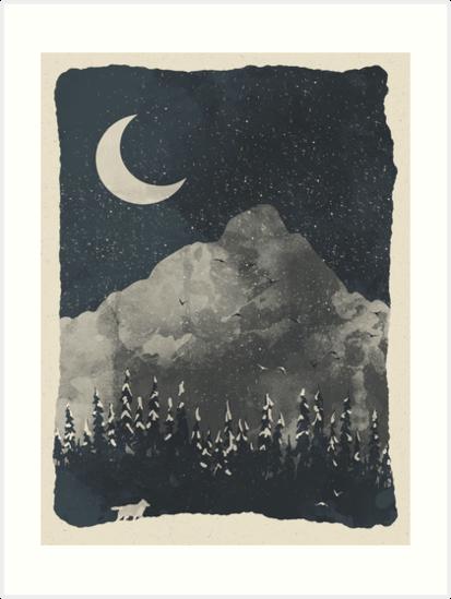 «El invierno encuentra al lobo ...» de ndtank