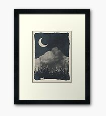 Winter Finds the Wolf... Framed Print