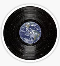 Earth In Space Vinyl LP Record Sticker
