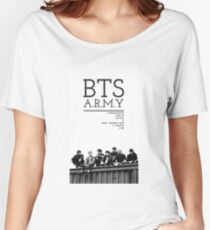 BTS ARMY Women's Relaxed Fit T-Shirt