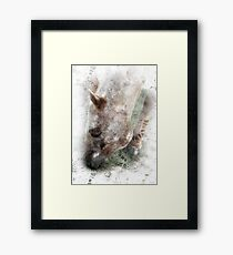Sun Dappled Horse - Impressionist Equestrian Country Art Framed Print