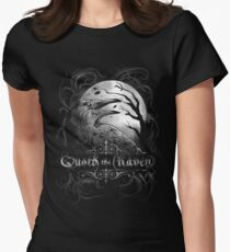 Quoth The Raven t-shirt Womens Fitted T-Shirt
