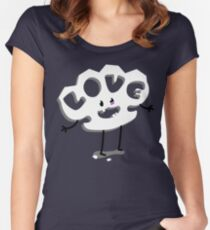Love Knuckles Women's Fitted Scoop T-Shirt