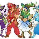 Witch Boys! by DarkChibiShadow