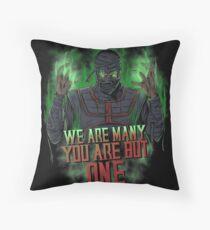 Ermac Throw Pillow