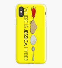 Utopia - where is Jessica Hyde? iPhone Case/Skin