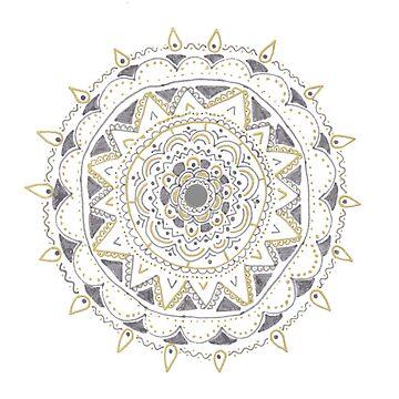 Silver Mandala by leegee