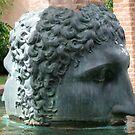 two faced big head! by Babz Runcie