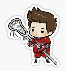 Stiles Stilinski Lacrosse Sticker