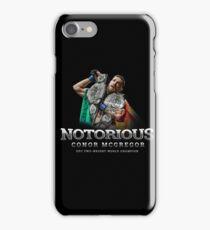 McGregor 2 Weight World Champ iPhone Case/Skin