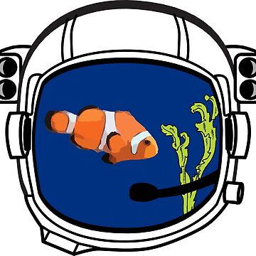 Space helmet as fish bowl von Upbeat