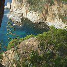 sea view - Tossa de Mar by Babz Runcie