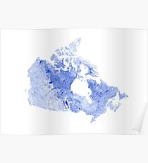 Waterways of Canada Poster