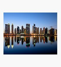 Downtown Dubai Photographic Print