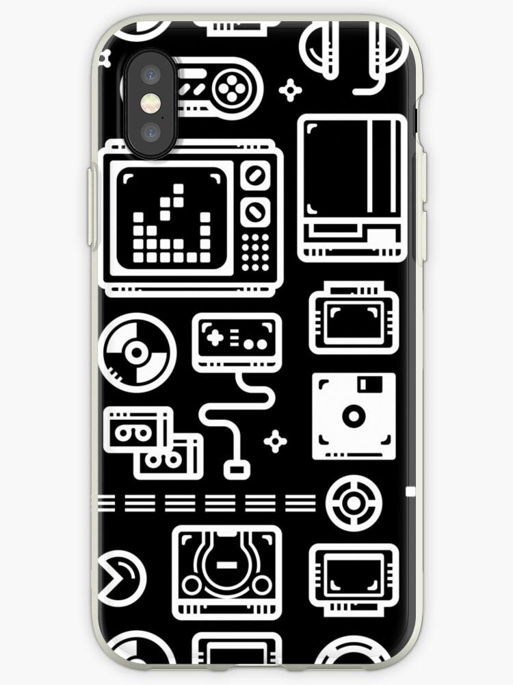 coque iphone xs jeux video