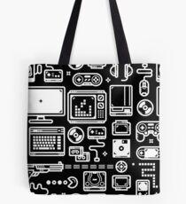 Bolsa de tela Consolas de videojuegos, PC, controladores, joysticks y gamepads de videojuegos retro
