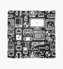 Retro Gamer Video Game Consoles, PC's, Controllers, Joysticks and Gamepads Scarf