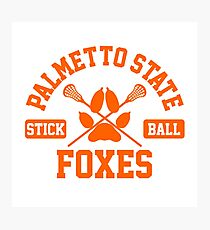 Palmetto State Stickball Orange Fotodruck
