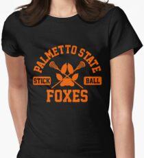 palmetto state stickball orange Women's Fitted T-Shirt