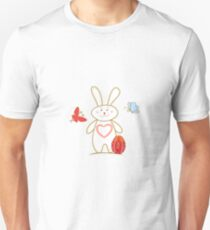 Happy easter and best wishes Unisex T-Shirt