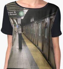 Subway 86th St Women's Chiffon Top