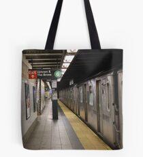 Subway 86th St Tote Bag