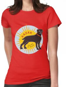 Kazak - Hound of Space Womens Fitted T-Shirt