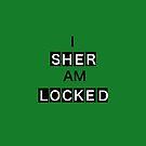 SHERLOCKED - WHITE AND BLACK by iTeeDept
