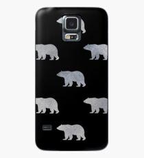 Silberbären Hülle & Klebefolie für Samsung Galaxy