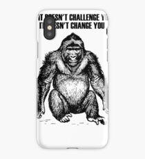 Ape sitting iPhone Case/Skin