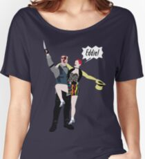 Outlast / Rocky Horror crossover Women's Relaxed Fit T-Shirt