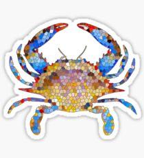 Chesapeake Bay Blue Crab Sticker
