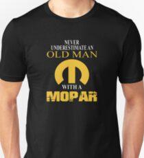 Never Underestimate An Old Man With A Mopar Unisex T-Shirt
