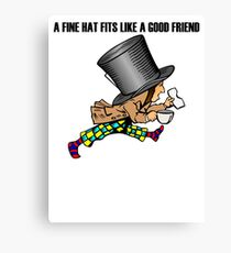 Mad Hatter Canvas Print