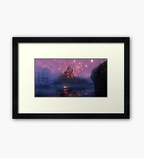 Tangled Lanterns! Framed Print