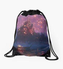 Tangled Lanterns! Drawstring Bag