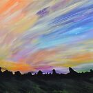 Experimental Landscape 2 by Mike Paget