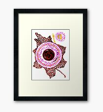 Cup of Coffee Art Framed Print