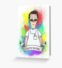 Bob Belcher Greeting Card