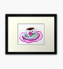 Cup of Coffee Art 2 Framed Print