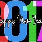 New Year's Greeting With Neon 2017 by Art2Me