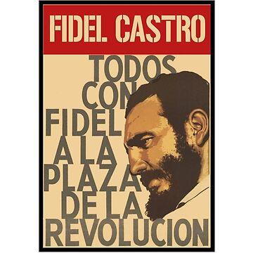 Fidel castro Revolution by holidoli