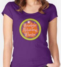 Weasley's Wizarding Wheezes logo Women's Fitted Scoop T-Shirt