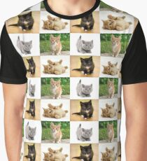 KITTENS!!!! Graphic T-Shirt