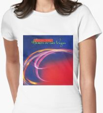 cocteau twins heaven or las vegas Women's Fitted T-Shirt