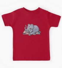 The Best Thing About Rainy Days Kids Tee
