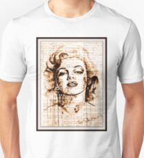 old book drawing marilyn monroe Unisex T-Shirt