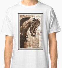 old book drawing famous people cal Classic T-Shirt