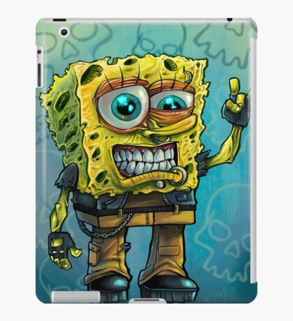 Grunge Bob iPad Case/Skin