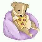 Pizza Puppy by Katie Corrigan